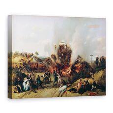Tablou Canvas - A Provost - Dezastru pe calea ferata intre Versailles si Bellevue, fig. 1