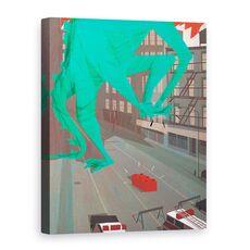 Tablou Canvas - A. Richard Allen - Au!, 2016, fig. 1