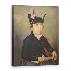 Tablou Canvas - A. Donchery - Portret De Pierre-Franois Palloy, fig. 1