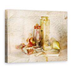 Tablou Canvas - Amintiri Dulci, Natura Moarta, Bucatarie, Sticla, Fructe, Sticla, fig. 1