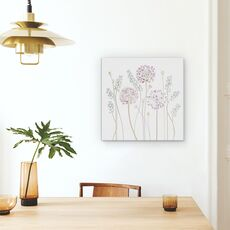 Tablou Canvas - Allium, Floral, Muscari, Seedpods, Flori, fig. 4