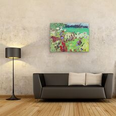 Tablou Canvas - Sylvia Paul - Camp verde, fig. 2