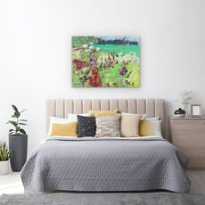 Tablou Canvas - Sylvia Paul - Camp verde, fig. 3