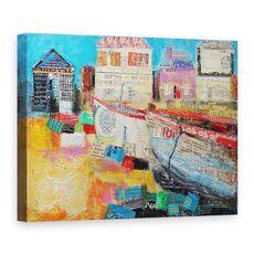Tablou Canvas - Sylvia Paul - Barci de pescuit vechi, 2013, fig. 1