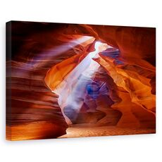 Tablou canvas - Raza de lumina, Peisaj, Canion, Lumina, Nisip, fig. 1