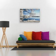 Tablou canvas - Irenkowo, Peisaj, Reflectie, Calm, Frunze, fig. 2