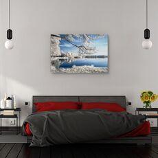 Tablou canvas - Irenkowo, Peisaj, Reflectie, Calm, Frunze, fig. 3