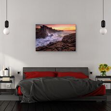 Tablou canvas - Zid langa mare, Peisaj, Australia, Peisaj, Apa, fig. 3