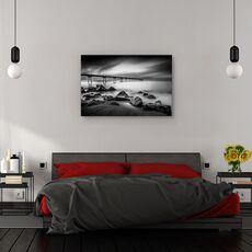 Tablou canvas - Pont del Petroli, Peisaj, Rasarit, Coasta, Spania, fig. 3