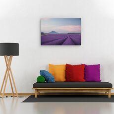 Tablou canvas - Camp de lavanda, Peisaj, Flori, Franta, fig. 2