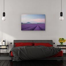 Tablou canvas - Camp de lavanda, Peisaj, Flori, Franta, fig. 3