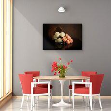 Tablou canvas - Flori, Natura moarta, Lumina, fig. 4