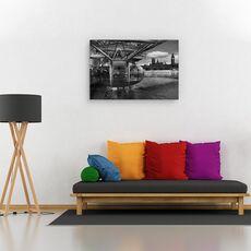 Tablou canvas - Cand trecutul intalneste viitorul, Londra, Westminister, London Eye, fig. 2