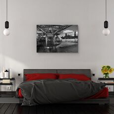 Tablou canvas - Cand trecutul intalneste viitorul, Londra, Westminister, London Eye, fig. 3