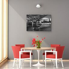 Tablou canvas - Cand trecutul intalneste viitorul, Londra, Westminister, London Eye, fig. 4