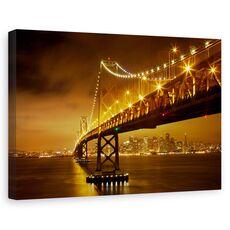 Tablou canvas - Podul Bay, Sua, San Francisco, America, fig. 1