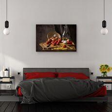 Tablou canvas - Pofta buna, Natura moarta, Compozitie, Rosie, Bucatarie, fig. 3