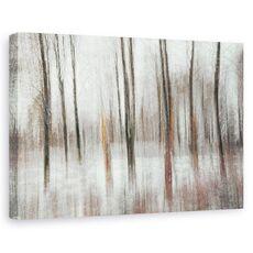 Tablou canvas - Flori, Iarna, Zapada, fig. 1