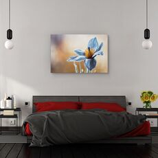Tablou canvas - Flori albastra, Flori, fig. 3