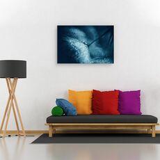 Tablou canvas - Papadie albastra, Flori, Picatura, Lumina, Tonifiat, fig. 2