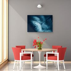 Tablou canvas - Papadie albastra, Flori, Picatura, Lumina, Tonifiat, fig. 4