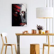 Tablou Canvas - 4 Elemente - Foc, Rosu, Pamant, Portret, Pofta, Studio, fig. 4