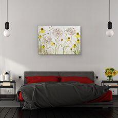 Tablou canvas - Allium si helenium, Natura moarta, Flori, Camp, Gradina, fig. 3
