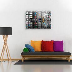 Tablou canvas - Amsterdam 39, Flori, Rau, Reflectie, Apa, fig. 2