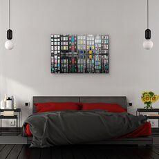 Tablou canvas - Amsterdam 39, Flori, Rau, Reflectie, Apa, fig. 3