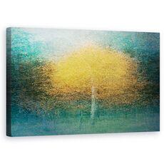 Tablou Canvas - Tanar La Inima, Copac, Toamna, Suedia, Pictorial, Padure, fig. 1