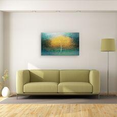 Tablou Canvas - Tanar La Inima, Copac, Toamna, Suedia, Pictorial, Padure, fig. 2