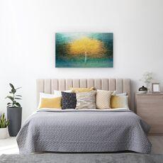 Tablou Canvas - Tanar La Inima, Copac, Toamna, Suedia, Pictorial, Padure, fig. 3