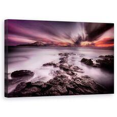 Tablou Canvas - Undeva Intre Lumina Si Umbra, Oahu, Hawaii, Sua, Recif, Stanca, fig. 1