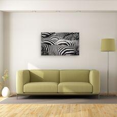 Tablou Canvas - Impreuna, Zebra, Dungi, Linii, fig. 2