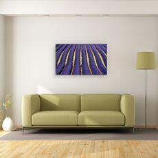 Tablou Canvas - Lavanda, Abstract, Albastru, Franta, Provence, fig. 2