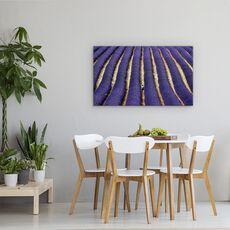 Tablou Canvas - Lavanda, Abstract, Albastru, Franta, Provence, fig. 4