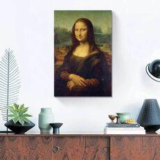 Tablou Canvas - Mona Lisa, Leonardo da Vinci, Femeie, Portret, fig. 2