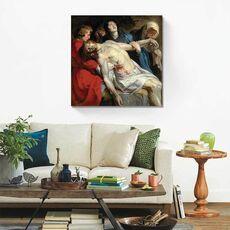 Tablou Canvas - Inmormantarea, Biblia, Oameni, Isus, fig. 2