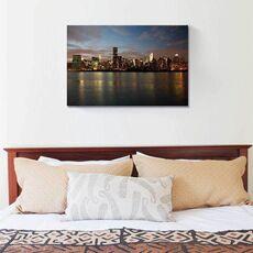 Tablou Canvas - Manhattan dinspre est, Rau, Oras, America, fig. 1