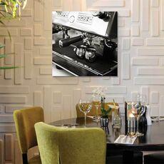 Tablou Canvas - Coffeehouse I Crop, fig. 1