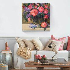 Tablou Canvas - Floral Still Life I, fig. 1