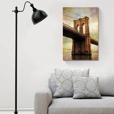 Tablou Canvas - Brooklyn Bridge dimineata, Punte, Pod, fig. 1