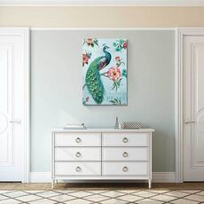 Tablou Canvas - Culorile Paunului, fig. 1