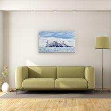 Tablou Canvas -  Bass Rock, fig. 2