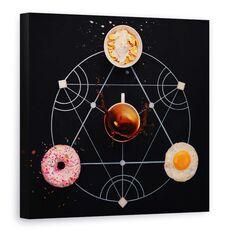 Tablou Canvas - Alchimie Pentru Micul Dejun, fig. 1