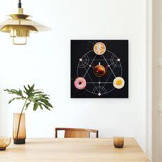 Tablou Canvas - Alchimie Pentru Micul Dejun, fig. 4