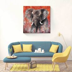 Tablou Canvas - Elefant, fig. 1