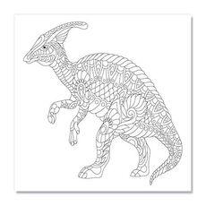 Tablou de colorat - Dinosaur, fig. 1