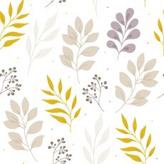 Tapet Premium - Autumn leaves, Vlies (Non-Woven), Eco Frendly, Nu necesita adeziv, Set 3 role, 5,4 mp, fig. 1