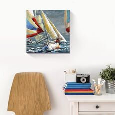 Tablou Canvas - Nautic II, Vapor, Mare, Retro, fig. 1
